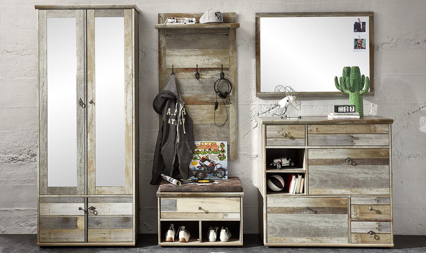 Wohnideen Garderobe flur garderobe möbelpiraten