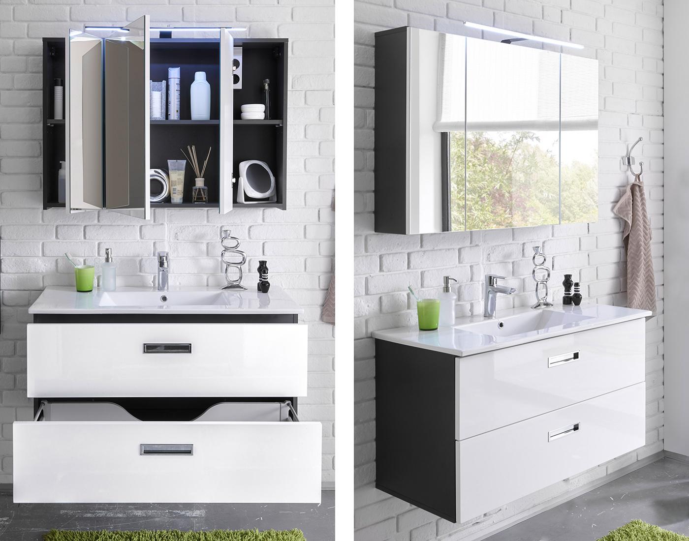 Badezimmer Möbelpiraten - Badezimmer waschbecken mit unterschrank
